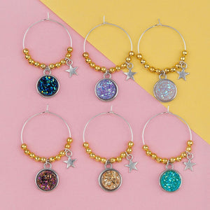 Wine Glass Pendant Charms