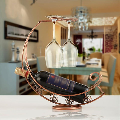 Wine Rack and Glass Holder