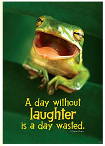 ARGUS?« Poster - A Day Without Laughter Is