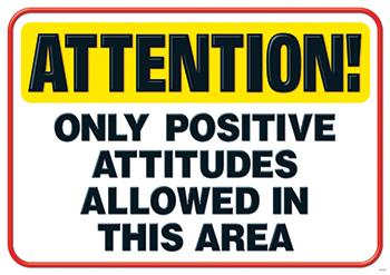 ARGUS?« Poster - Attention! Only Positive