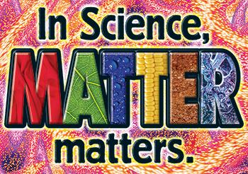 ARGUS?« Poster - In Science, Matter Matters