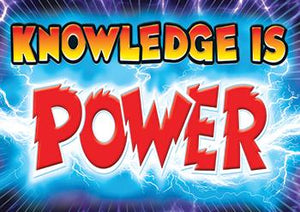 ARGUS?« Poster - Knowledge Is Power