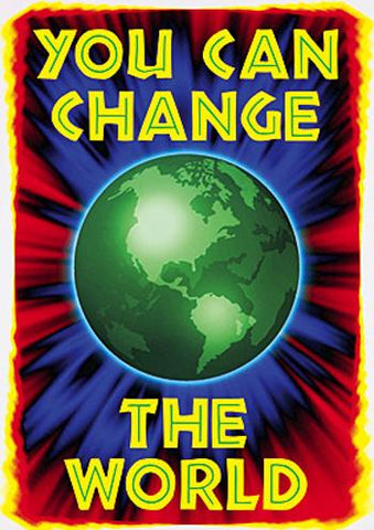ARGUS?« Poster - You Can Change The World