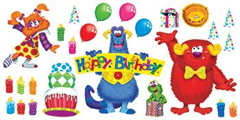 Bulletin Board Set - Furry Friends?« Birthday Fun