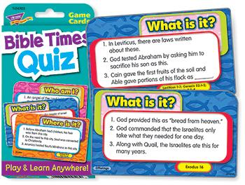 Challenge Cards?« - Bible Times Quiz