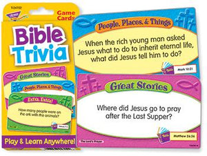 Challenge Cards?« - Bible Trivia