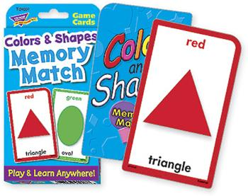 Challenge Cards?« - Shapes & Colors Memory Match