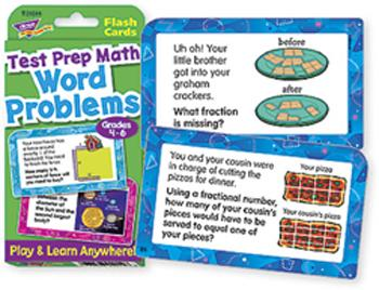 Challenge Cards?« - Word Problems Test Prep Math, Grades 4-6