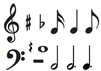 Classic Accents?« Variety Pack - Music Symbols