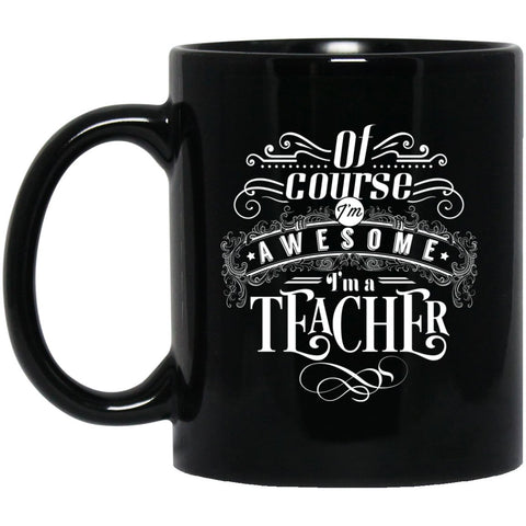 Drinkware - I'm Awesome 11 Oz. Black Mug