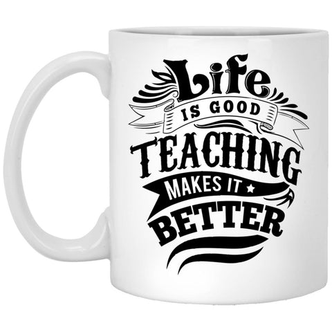 Drinkware - Life Is Good 11 Oz. White Mug