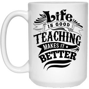 Drinkware - Life Is Good 15 Oz. White Mug