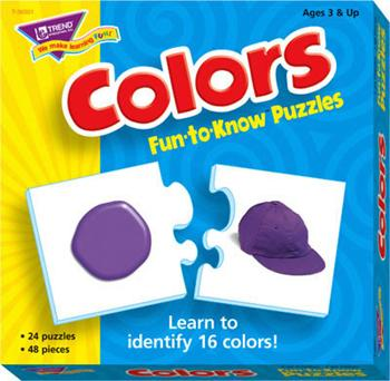 Fun-to-Know?« Puzzles - Colors
