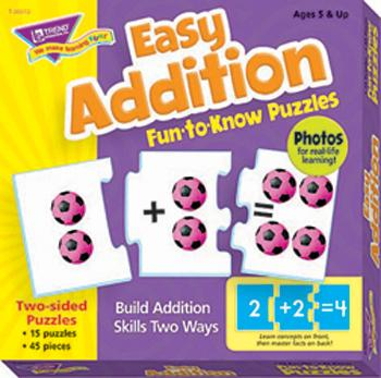 Fun-to-Know?« Puzzles - Easy Addition