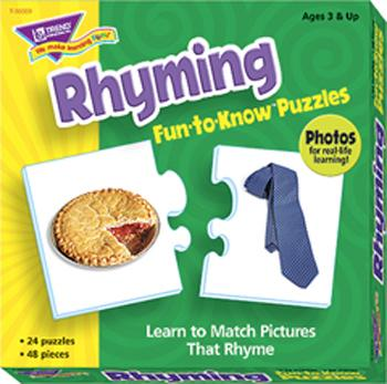 Fun-to-Know?« Puzzles - Rhyming