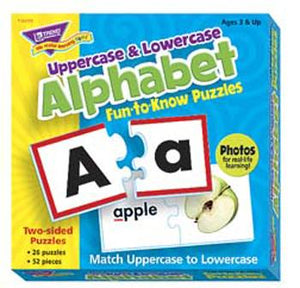 Fun-to-Know?« Puzzles - Uppercase & Lowercase Alphabet