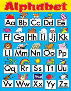 Learning Chart - Alphabet Fun