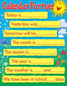 Learning Chart - Calendar Partner