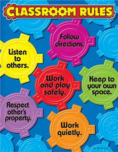 Learning Chart - Classroom Rules
