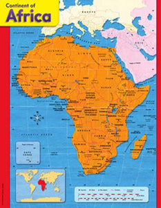 Learning Chart - Continent Of Africa