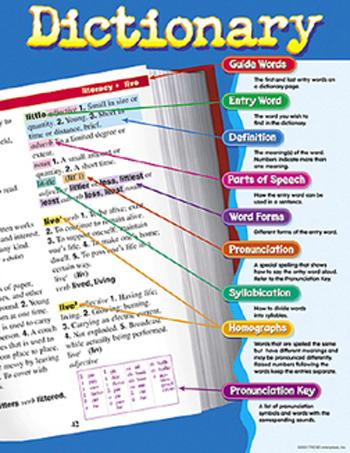 Learning Chart - Dictionary
