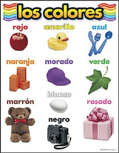 Learning Chart - Los Colores (SP)