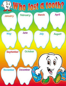 Learning Chart - Who Lost A Tooth?