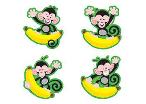 Mini Accents Variety Pack - Monkeys And Bananas
