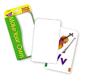 Pocket Flash Cards - Make-Your-Own