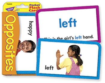 Pocket Flash Cards - Opposites