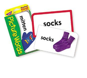 Pocket Flash Cards - Picture Words