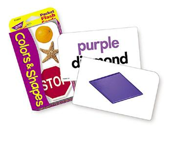 Pocket Flash Cards - Shapes & Colors