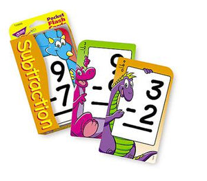 Pocket Flash Cards - Subtraction 0-12
