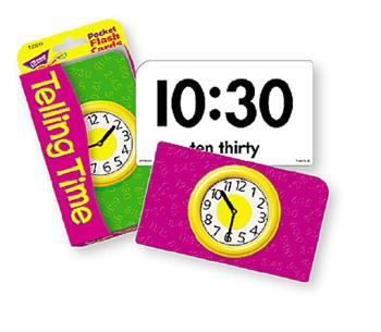 Pocket Flash Cards - Telling Time