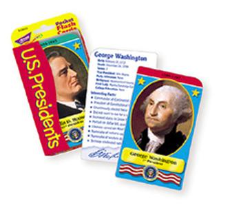 Pocket Flash Cards - U.S. Presidents