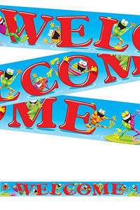 Quotable Expressions?« Banner ?Çô 10 Feet - Welcome Frog-tastic!?«