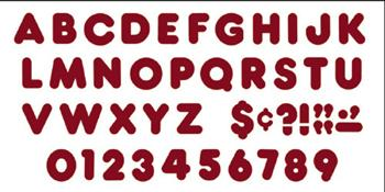 Ready Letters?« - Maroon 4-Inch Casual Uppercase
