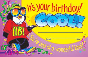 Recognition Awards - It?ÇÖs Your Birthday! COOL!
