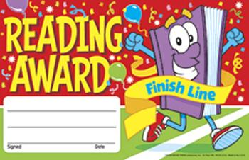 Recognition Awards - Reading Award Finish Line
