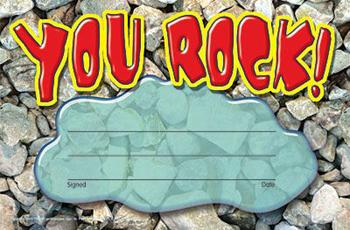 Recognition Awards - You Rock!