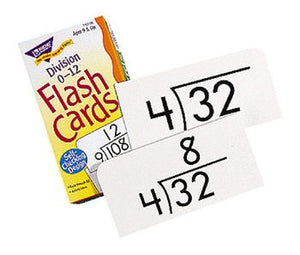 Skill Drill Flash Cards - Division 0-12