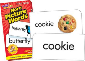 Skill Drill Flash Cards - More Picture Words