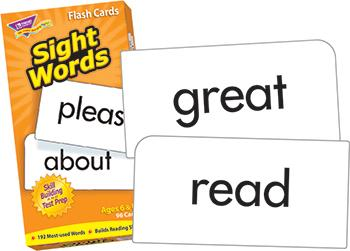 Skill Drill Flash Cards - Sight Words