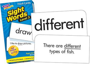 Skill Drill Flash Cards - Sight Words ?Çô Level 3