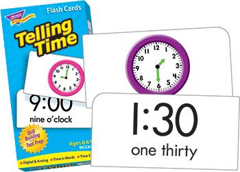 Skill Drill Flash Cards - Telling Time