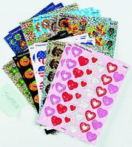 Sparkle Stickers?« Variety Pack - Holiday Celebration