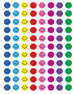 Stickers - Happy Face Mini Stickers