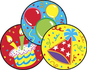 Stinky Stickers?« ?Çô Large Round - Big Birthday/Frosting