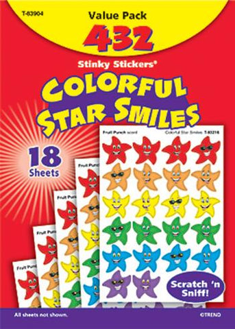 Stinky Stickers?« Value Pack - Colorful Star Smiles
