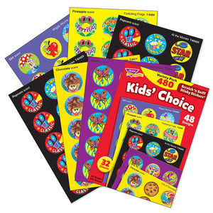 Stinky Stickers?« Variety Pack - Kids' Choice